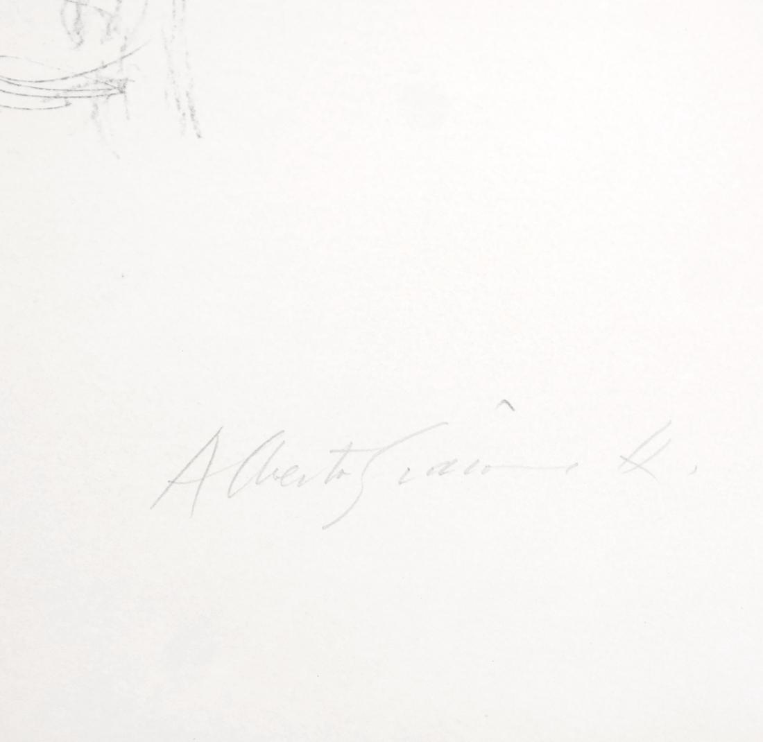 Giacometti, Bust II, Lithograph - 3