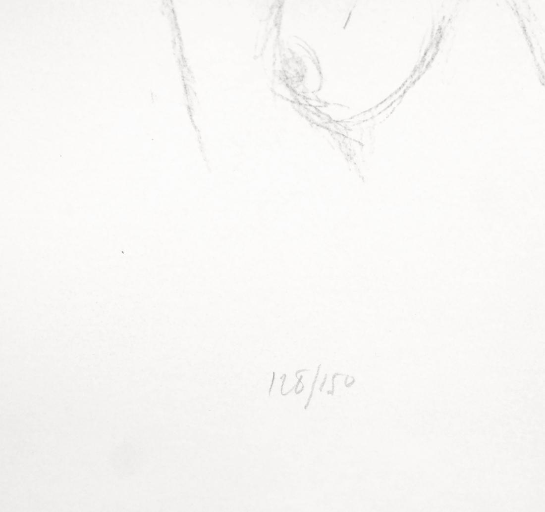 Giacometti, Bust II, Lithograph - 4