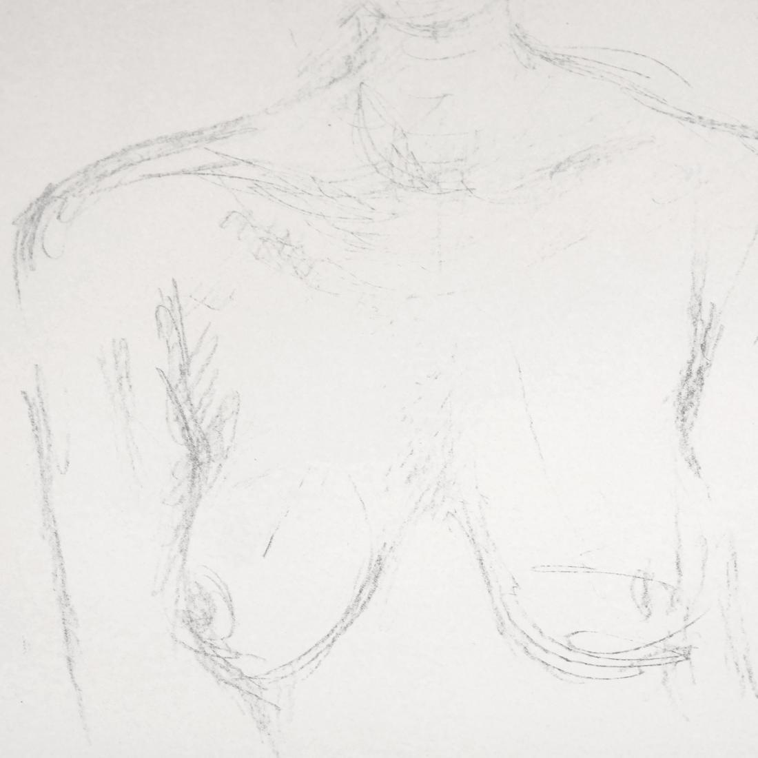 Giacometti, Bust II, Lithograph - 5
