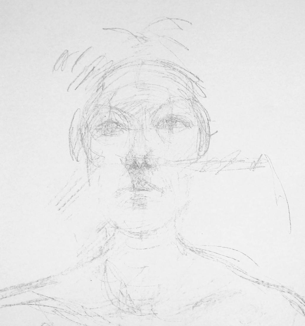 Giacometti, Bust II, Lithograph - 6