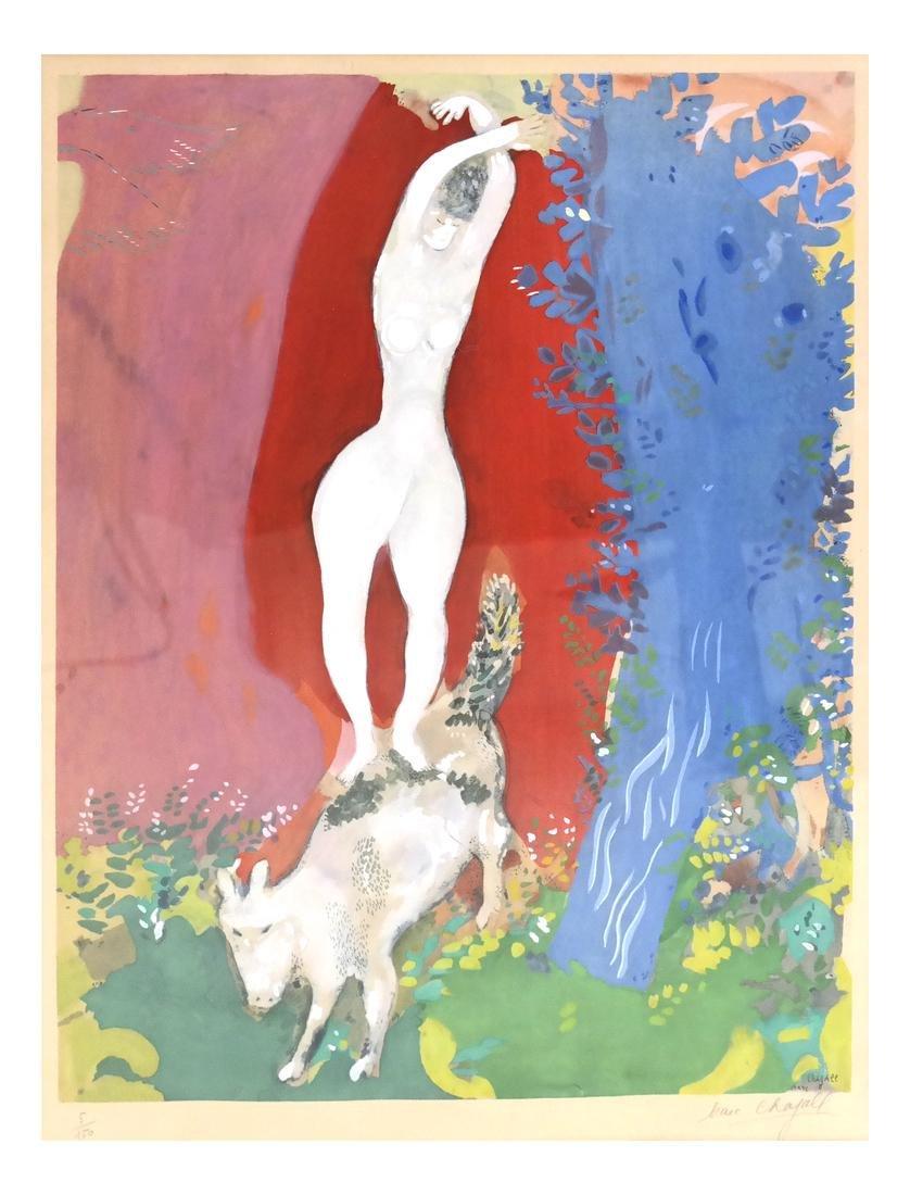 After Marc Chagall, Femme de Cirque
