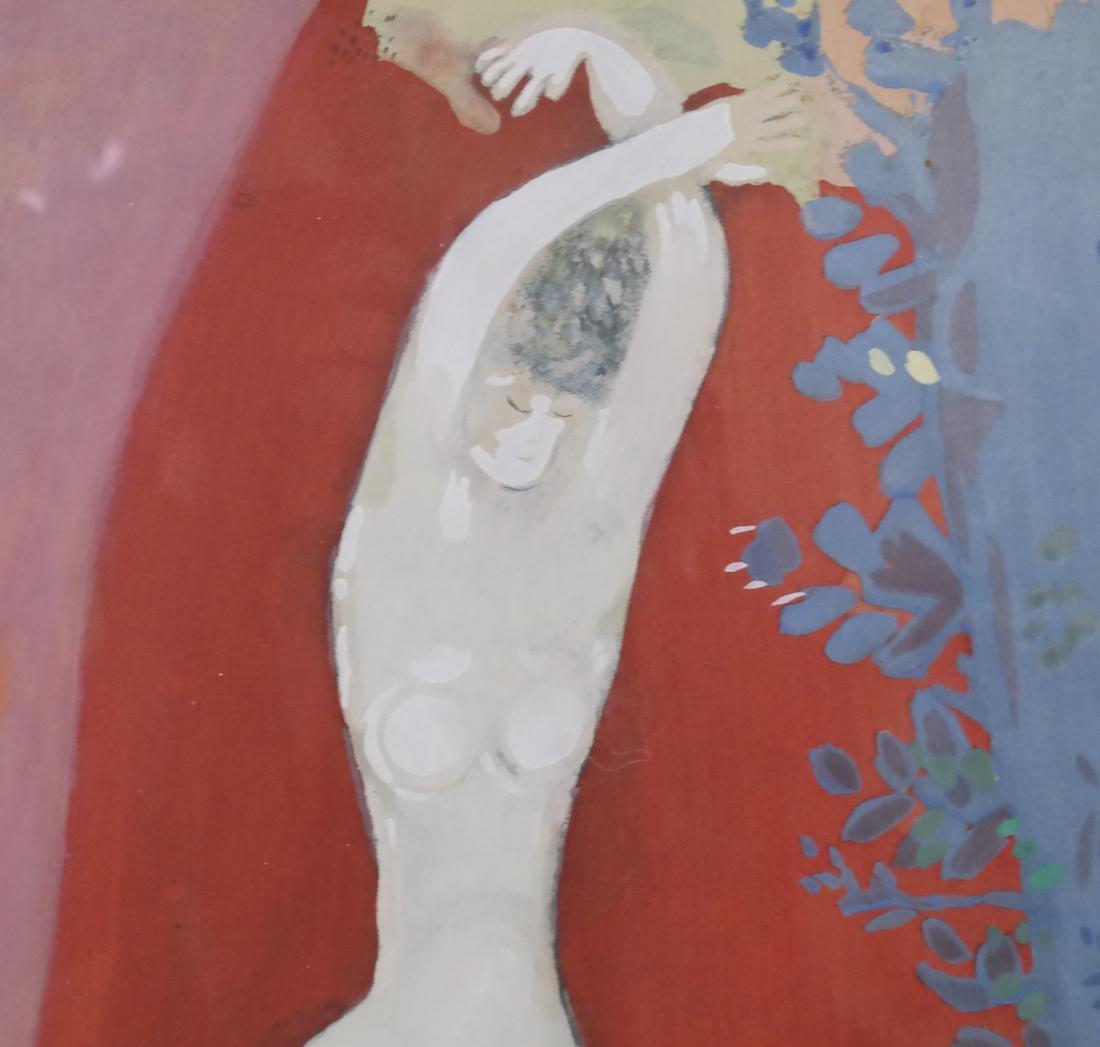 After Marc Chagall, Femme de Cirque - 3