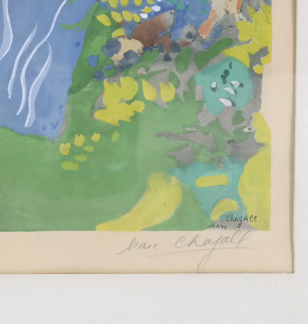After Marc Chagall, Femme de Cirque - 5