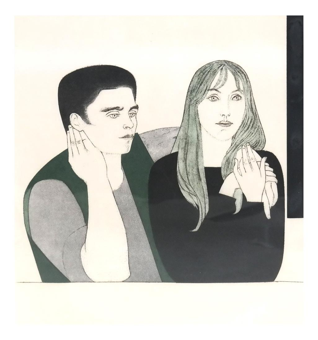 Will Barnet, The Young Couple