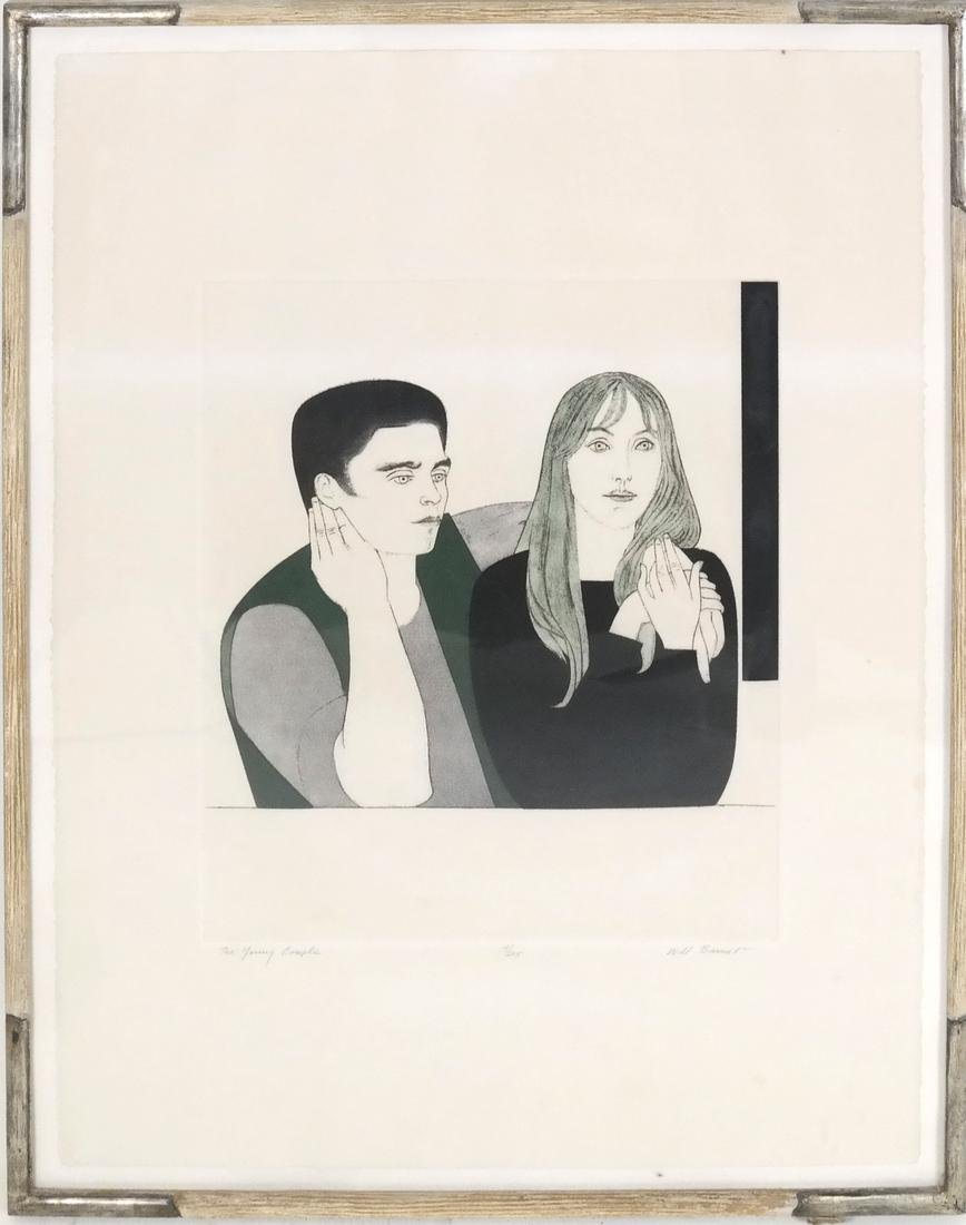 Will Barnet, The Young Couple - 2