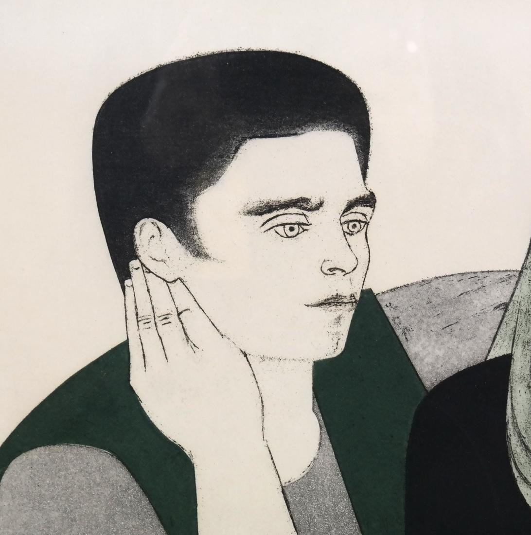 Will Barnet, The Young Couple - 3