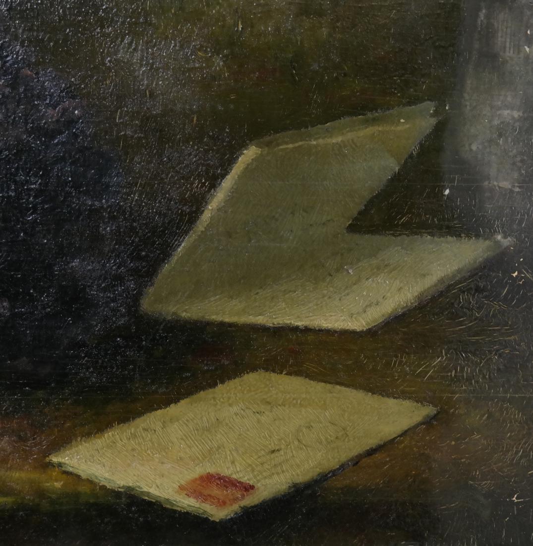 Framed Still Life with Opened Letter - 3