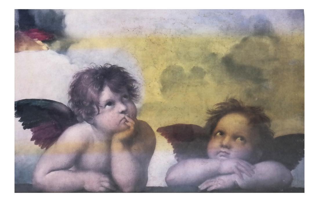 After Raphael's Two Cheribum