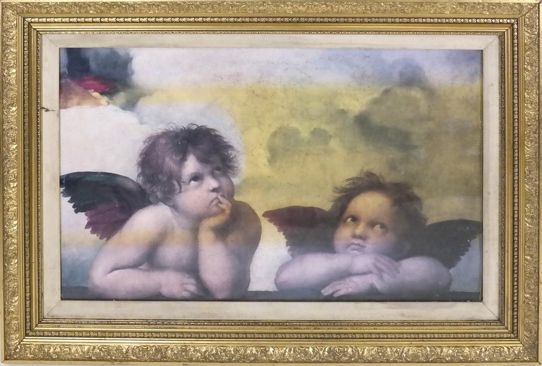 After Raphael's Two Cheribum - 2