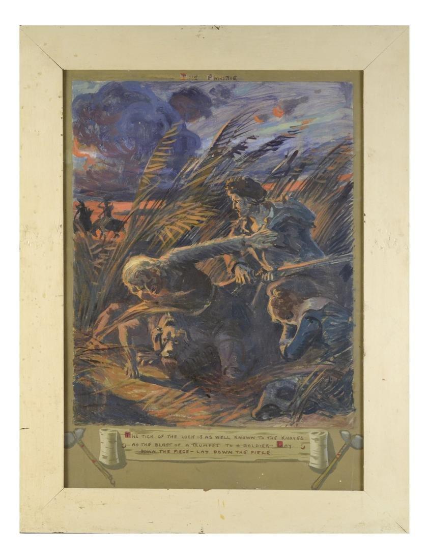 """The Prairie"", Oil on Paper - 2"