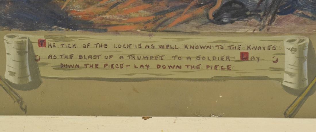 """The Prairie"", Oil on Paper - 3"
