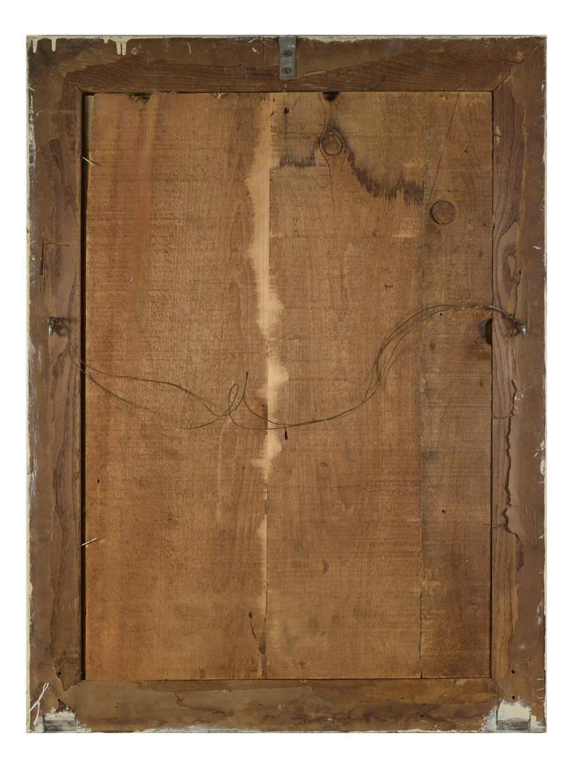 """The Prairie"", Oil on Paper - 6"