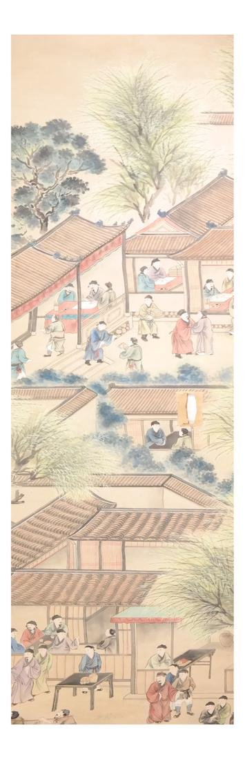 Two Asian Scroll Paintings - 3