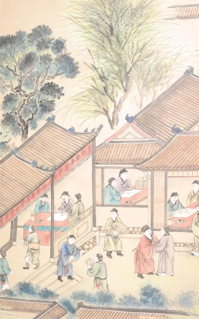 Two Asian Scroll Paintings - 6