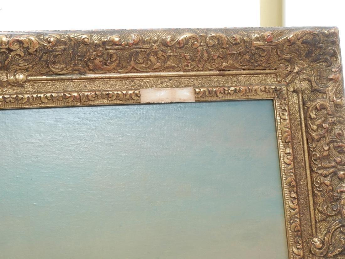 """After Felix Ziem, Oil Painting """"Venice"""" - 2"""