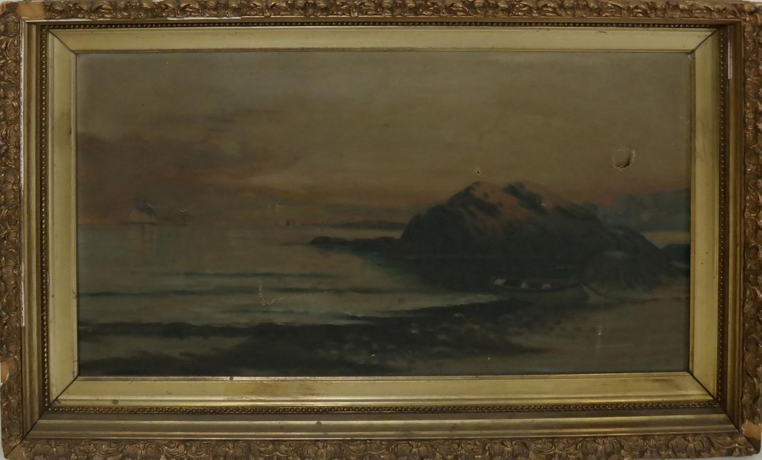 Shore Scene, Oil on Canvas - 2