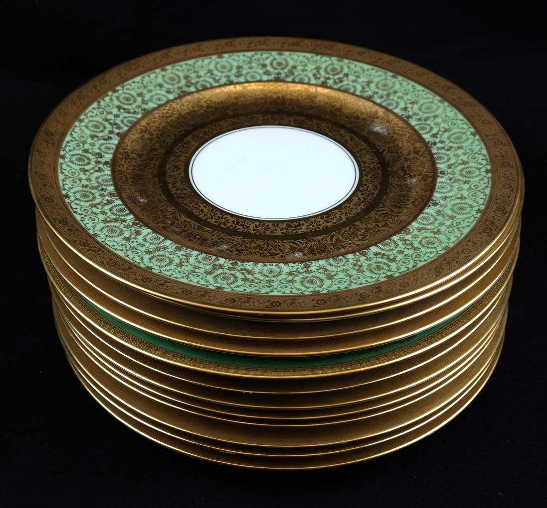 Set of Twelve Royal Bavarian Plates