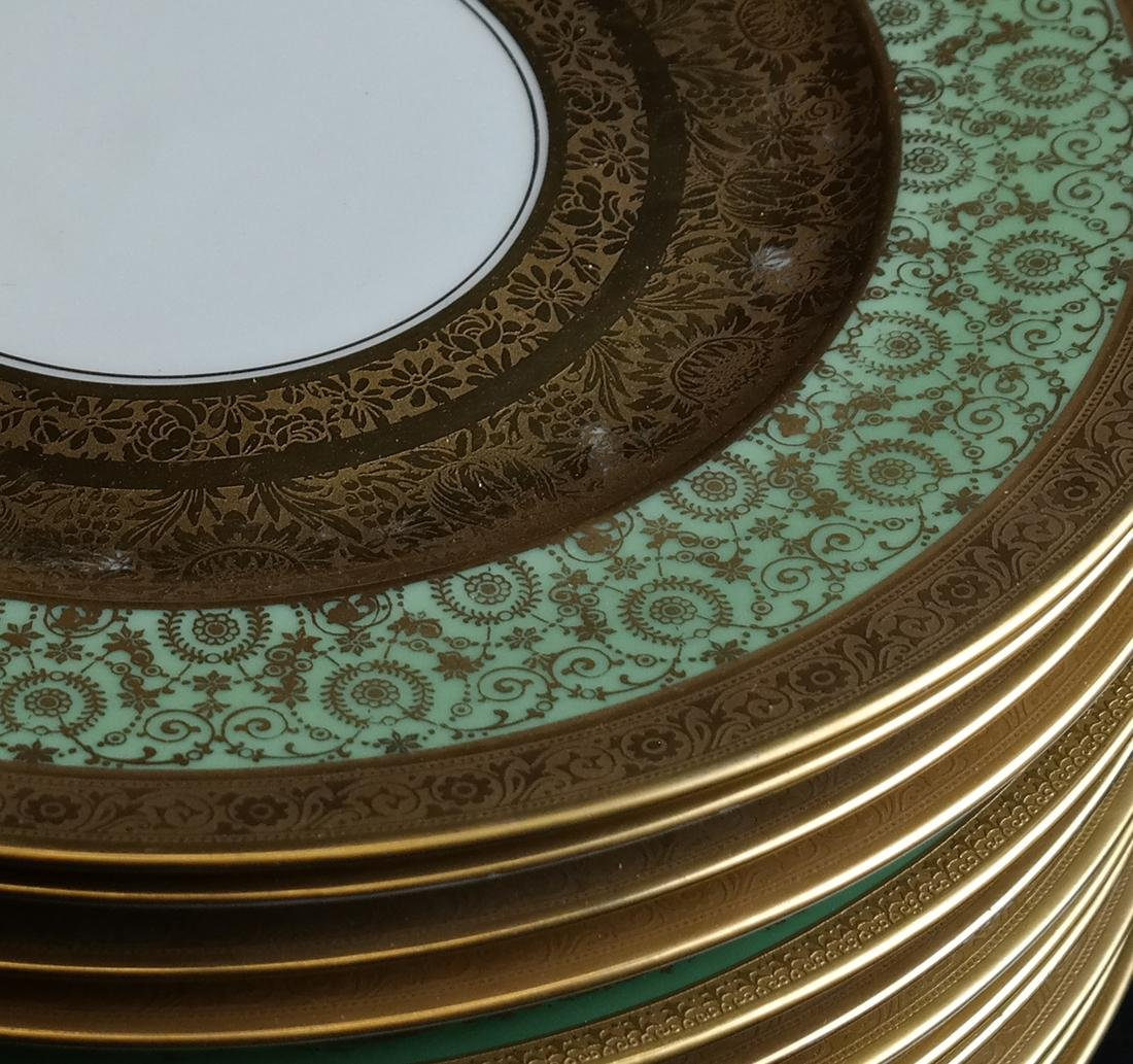 Set of Twelve Royal Bavarian Plates - 2