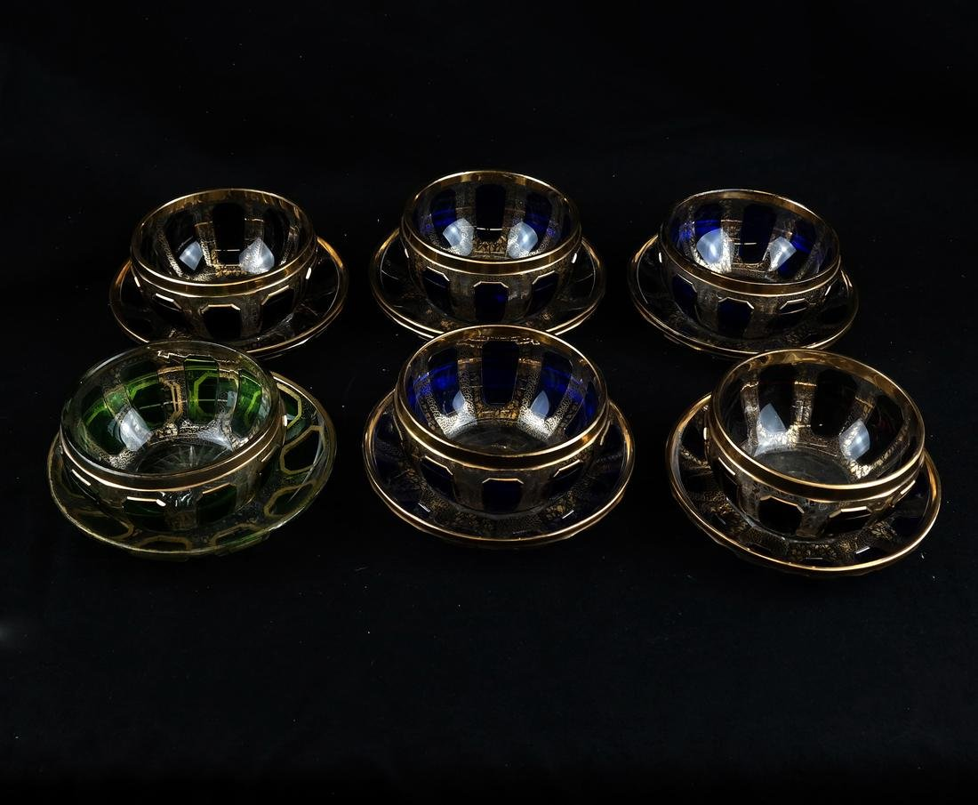 Twelve Assorted Glass Objects