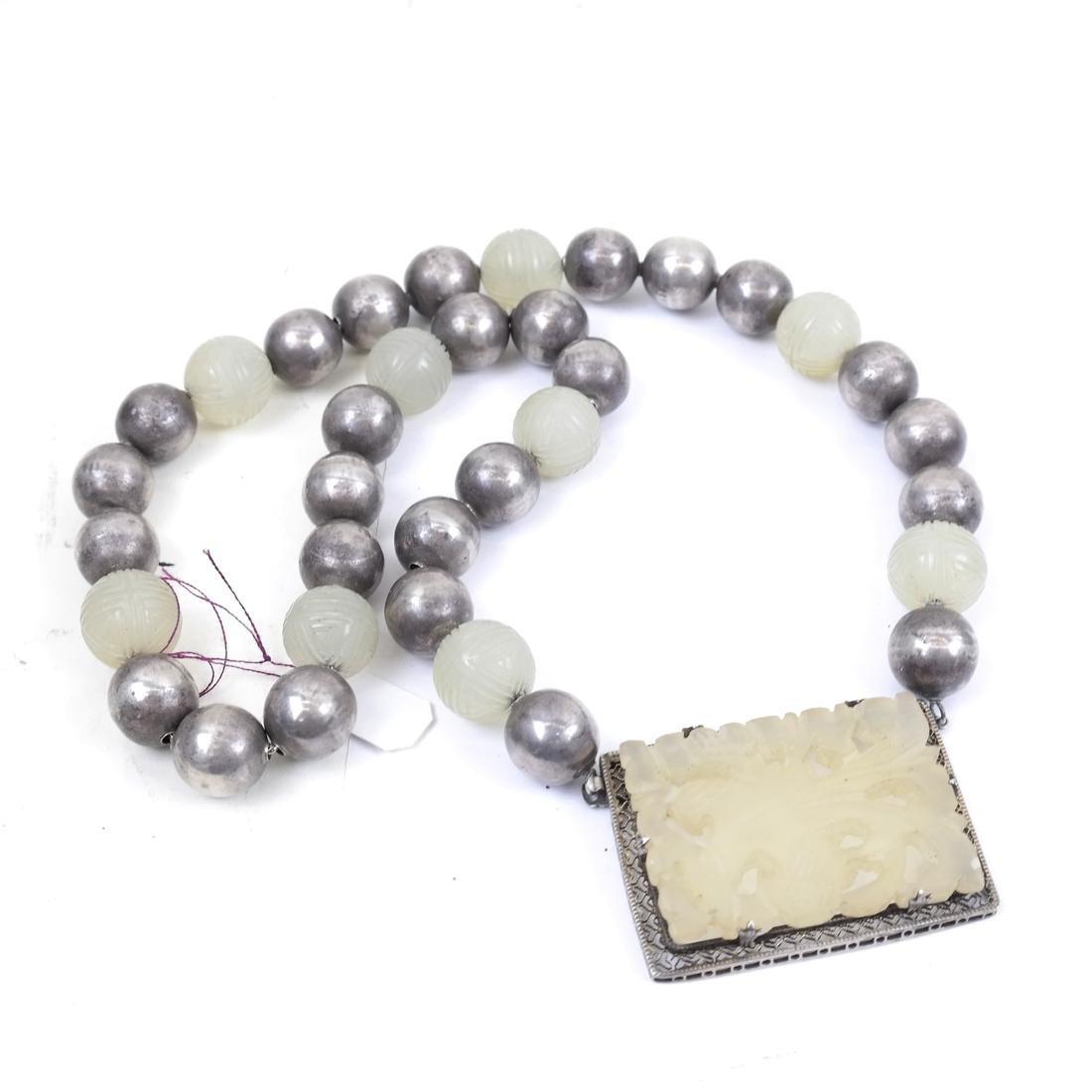 Jade and Assorted Neckaces & Bracelets - 2