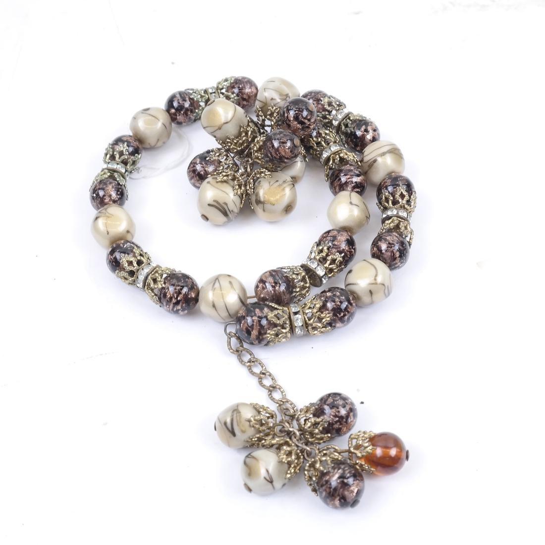 Jade and Assorted Neckaces & Bracelets - 3