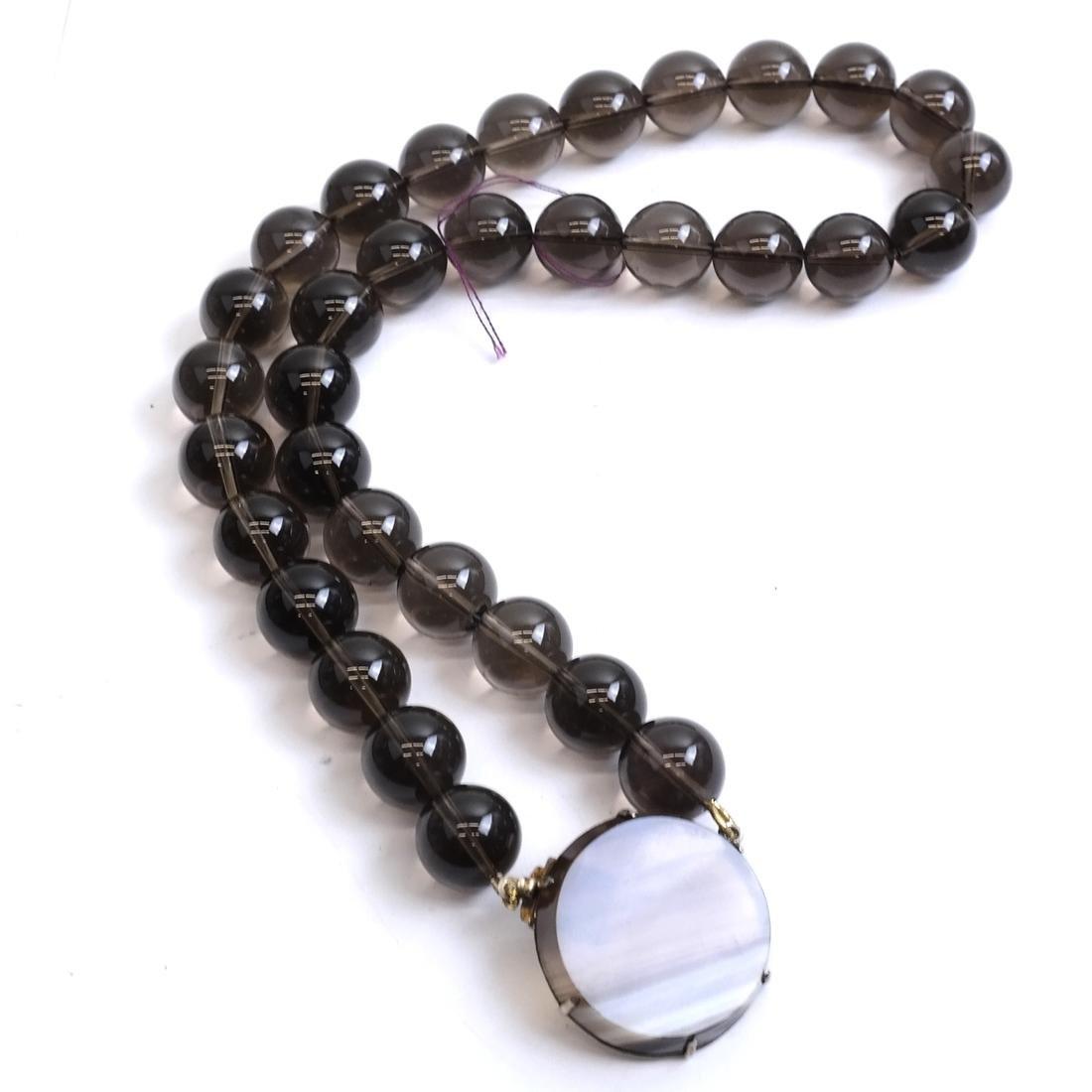 Jade and Assorted Neckaces & Bracelets - 6