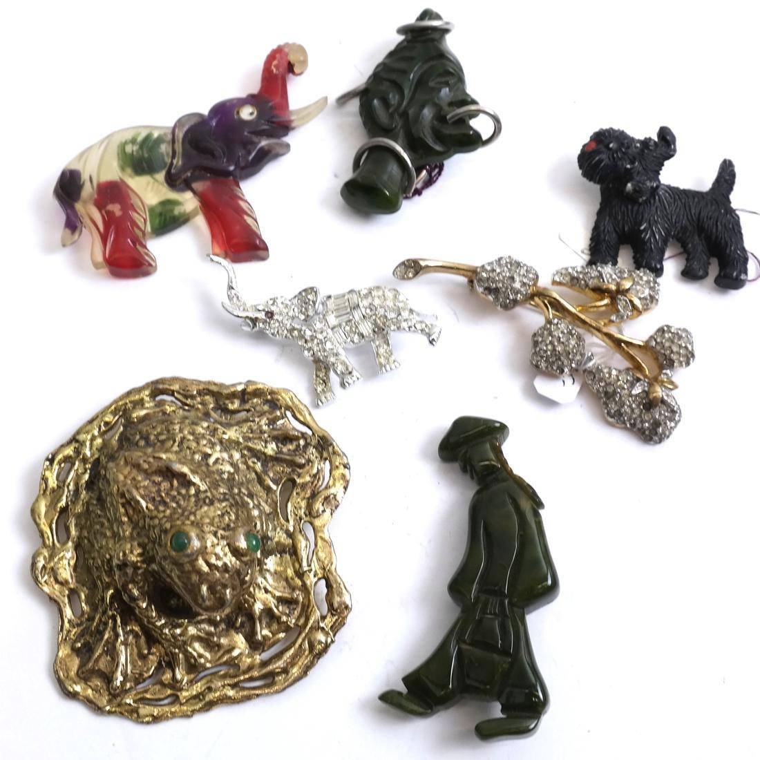 Seven Vintage Pins