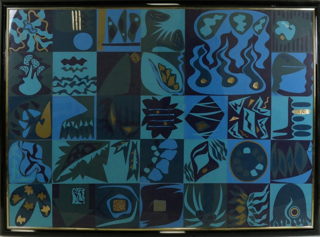 Framed Collage, Squares - 2