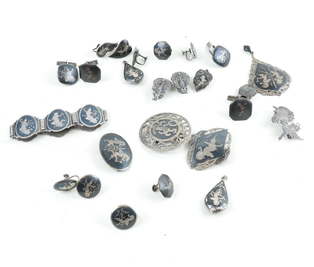 Twenty-Five Siam, Silver Jewelry Items