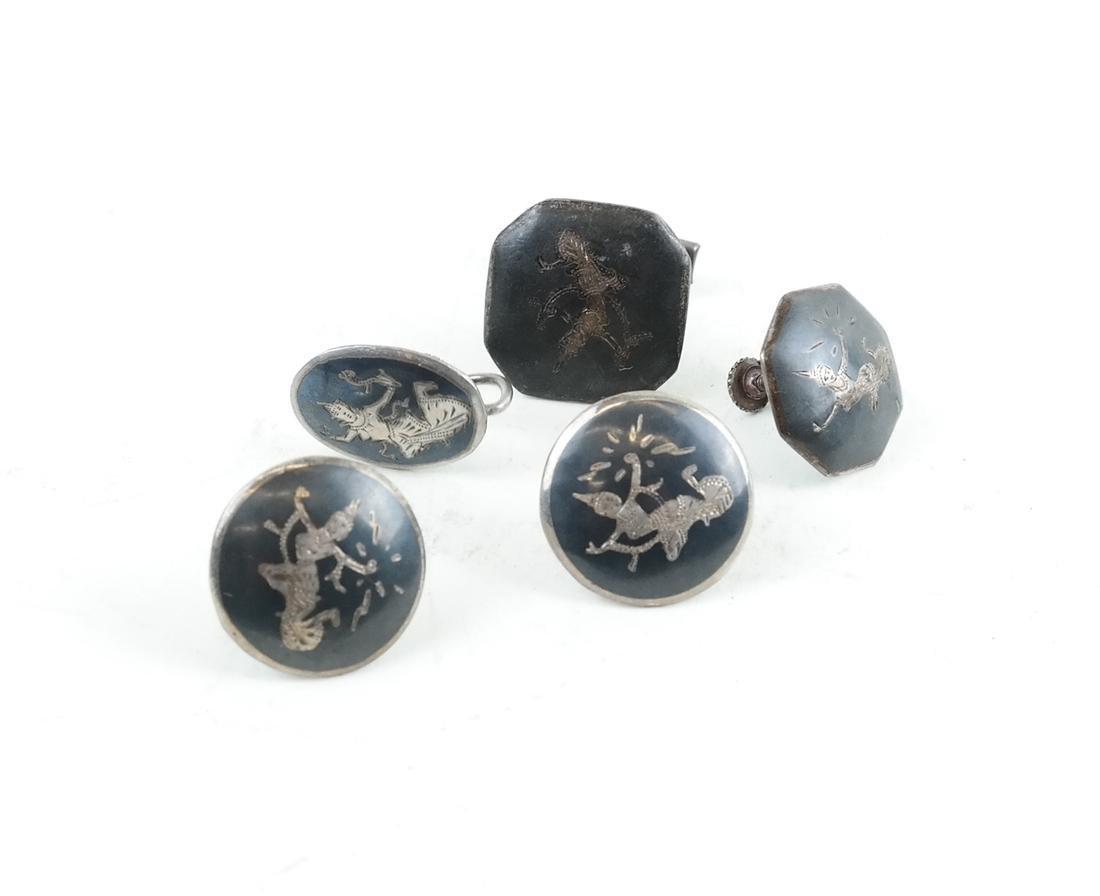 Twenty-Five Siam, Silver Jewelry Items - 3