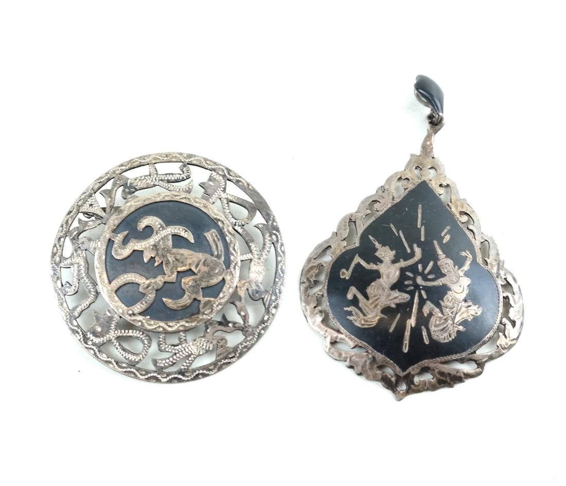 Twenty-Five Siam, Silver Jewelry Items - 5