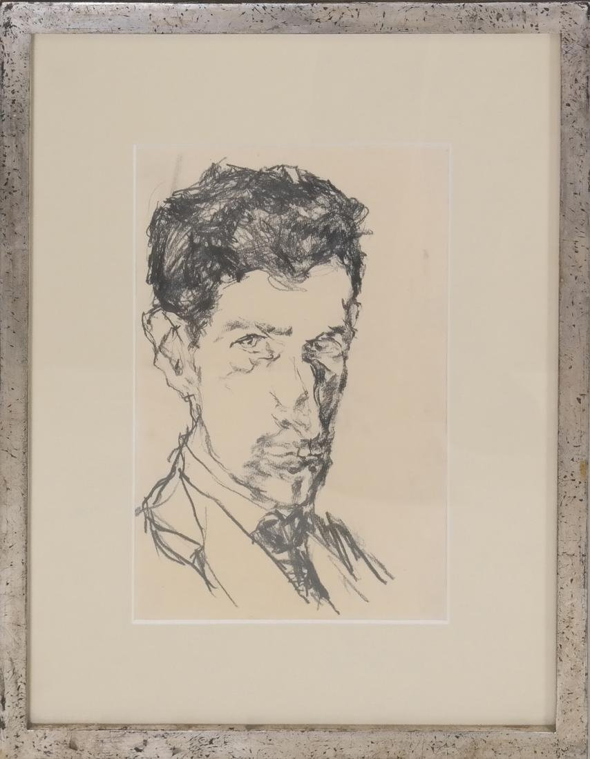 Drawing of A Male Bust - 2