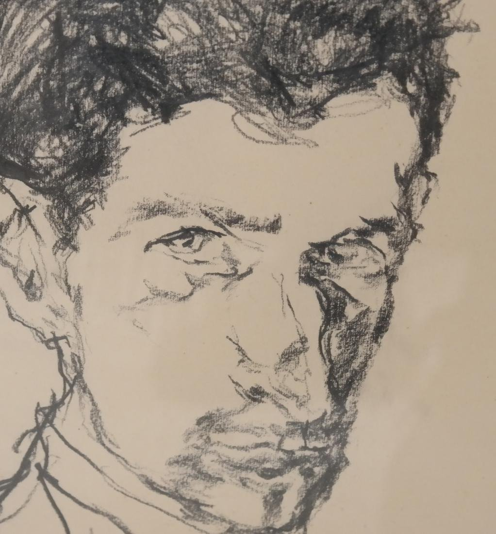Drawing of A Male Bust - 3