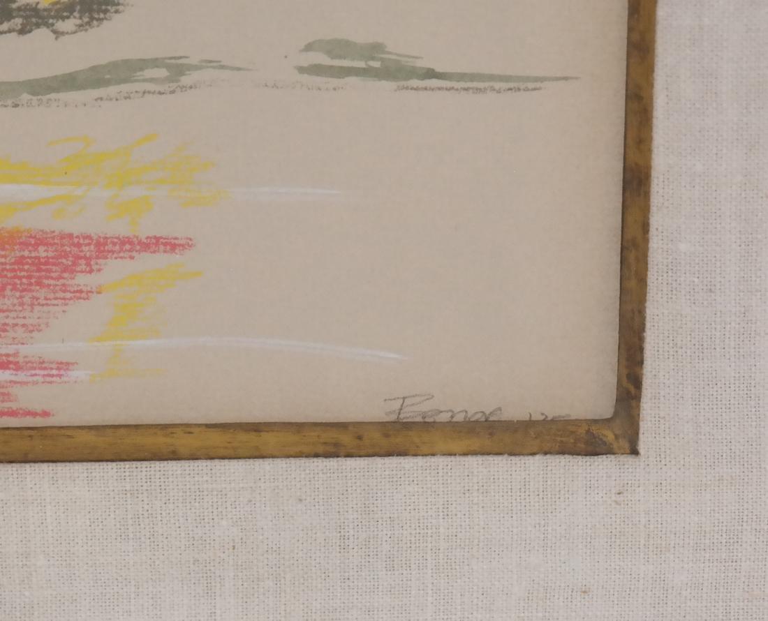 Boyce Benge, Abstract Landscape, W/C - 3