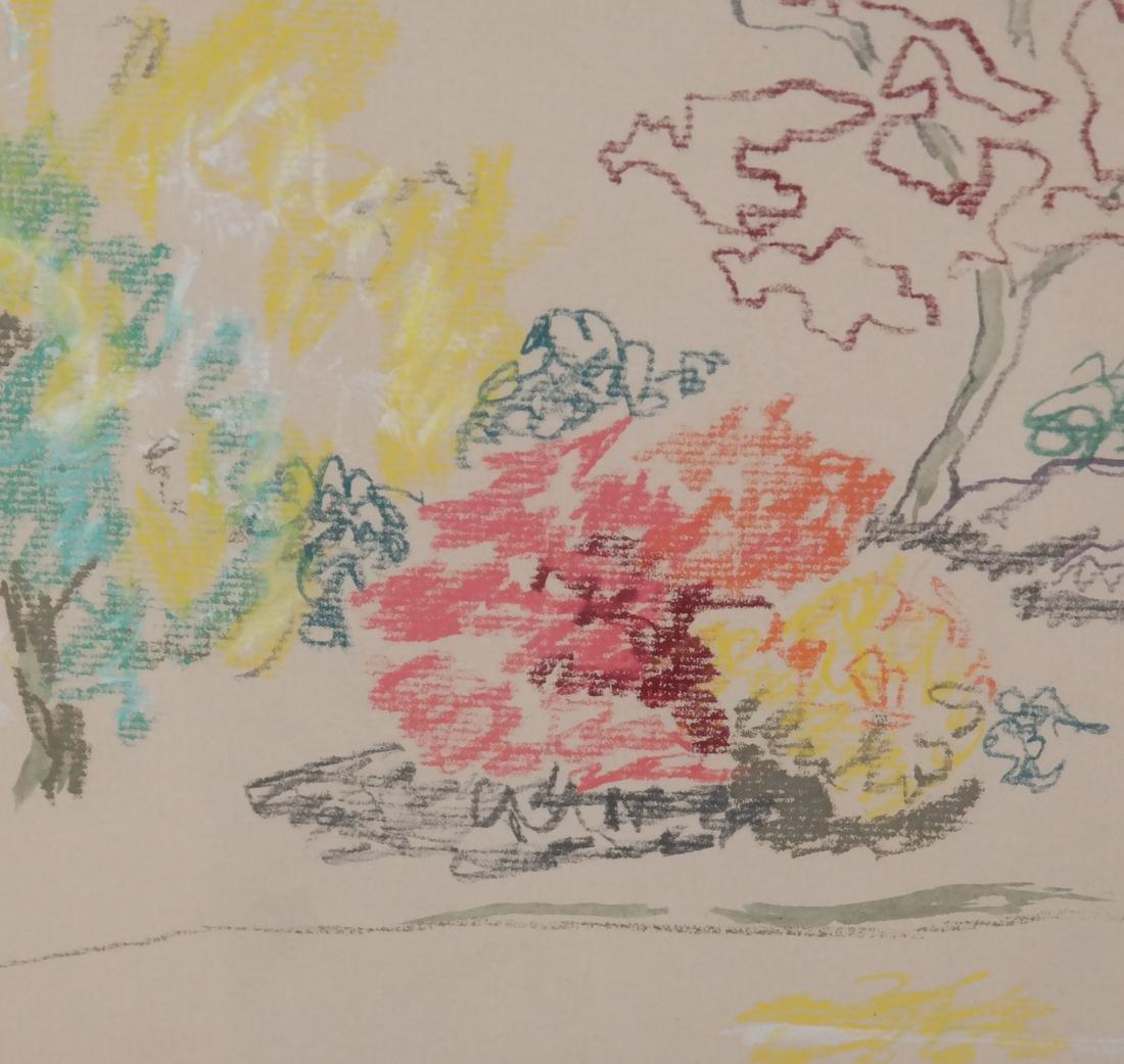Boyce Benge, Abstract Landscape, W/C - 4