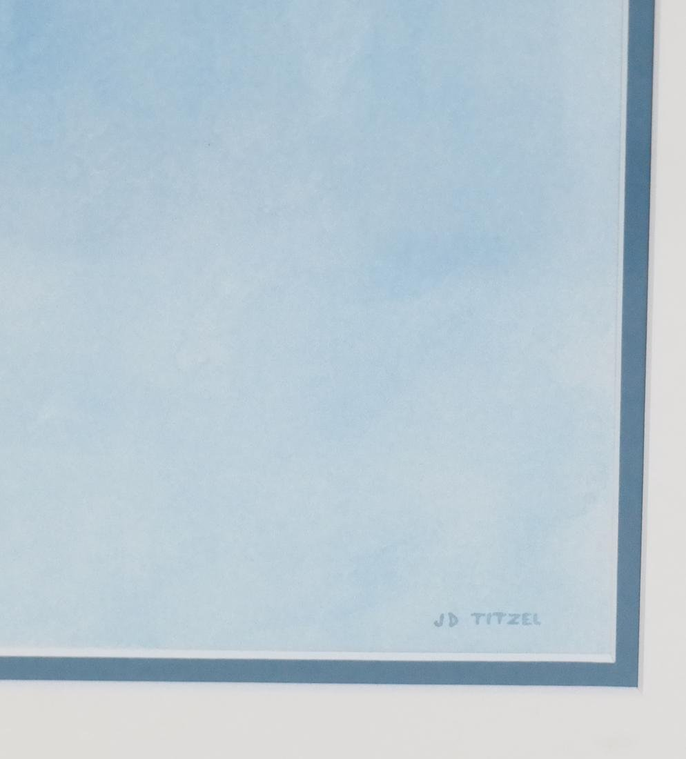 JD Titlel, Coat & Hat, Lithograph - 3