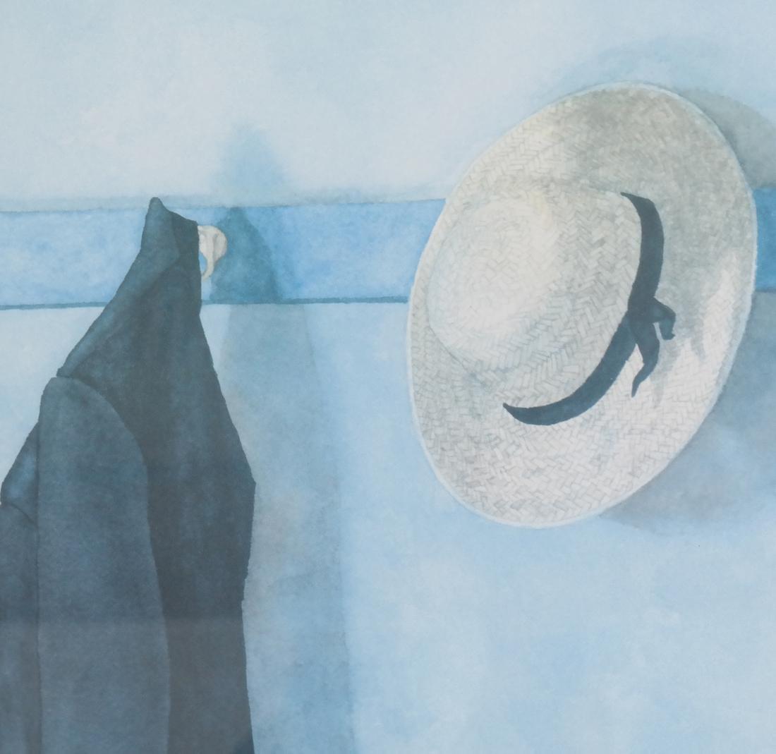 JD Titlel, Coat & Hat, Lithograph - 5