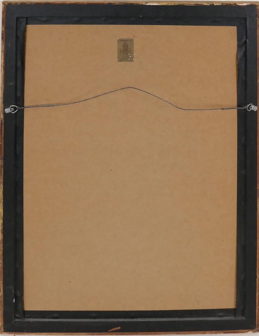 Boyce Benge, Numbers, Oil On Carton - 6