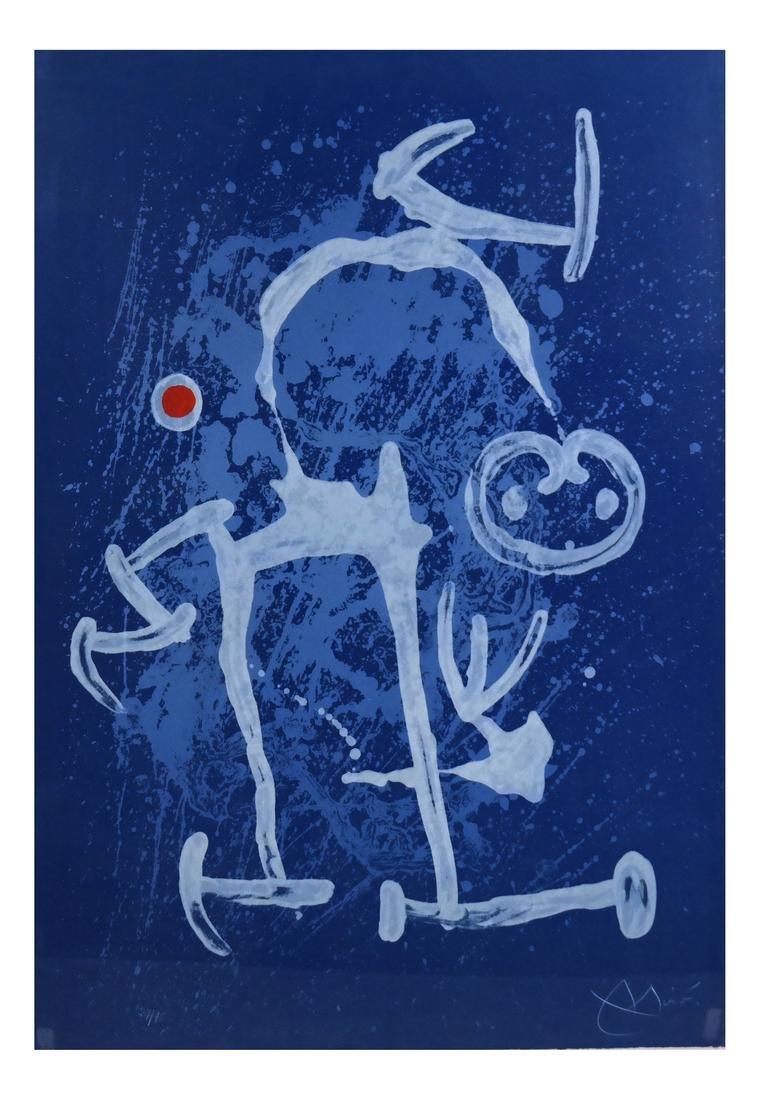 Joan Miro, The Illiterate, Lithograph