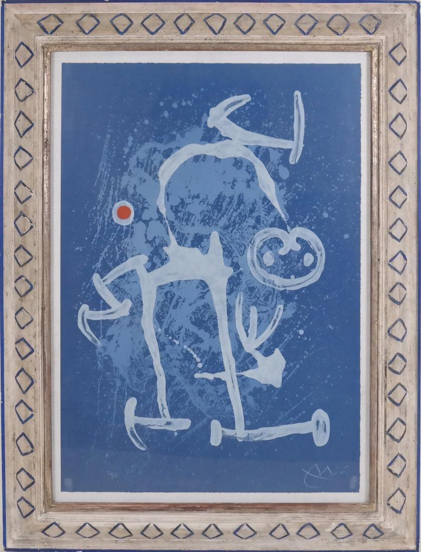 Joan Miro, The Illiterate, Lithograph - 2