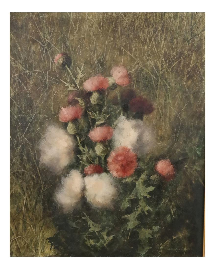 Henry Lane, Floral Still Life