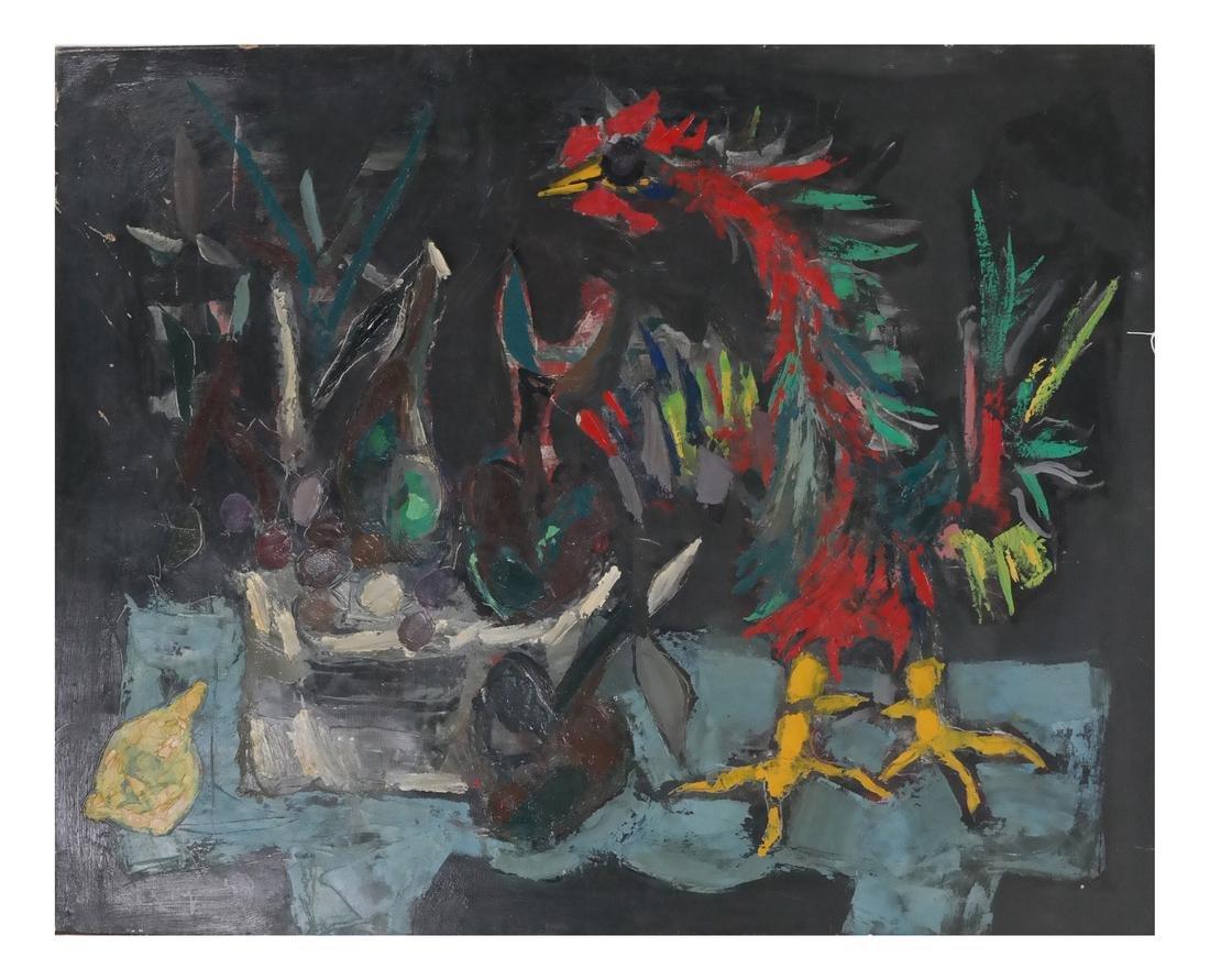 Jean-Claude Dragomir - Two Cockfighting Scenes - 7