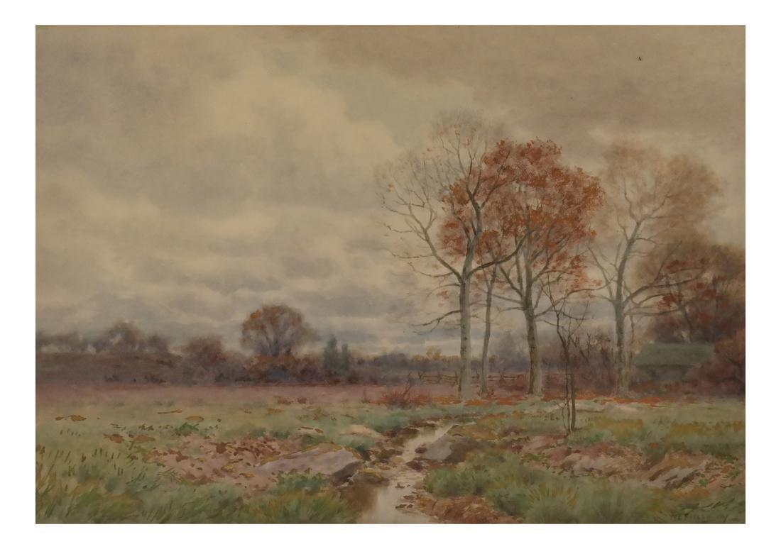 William Fitler, Landscape - Watercolor