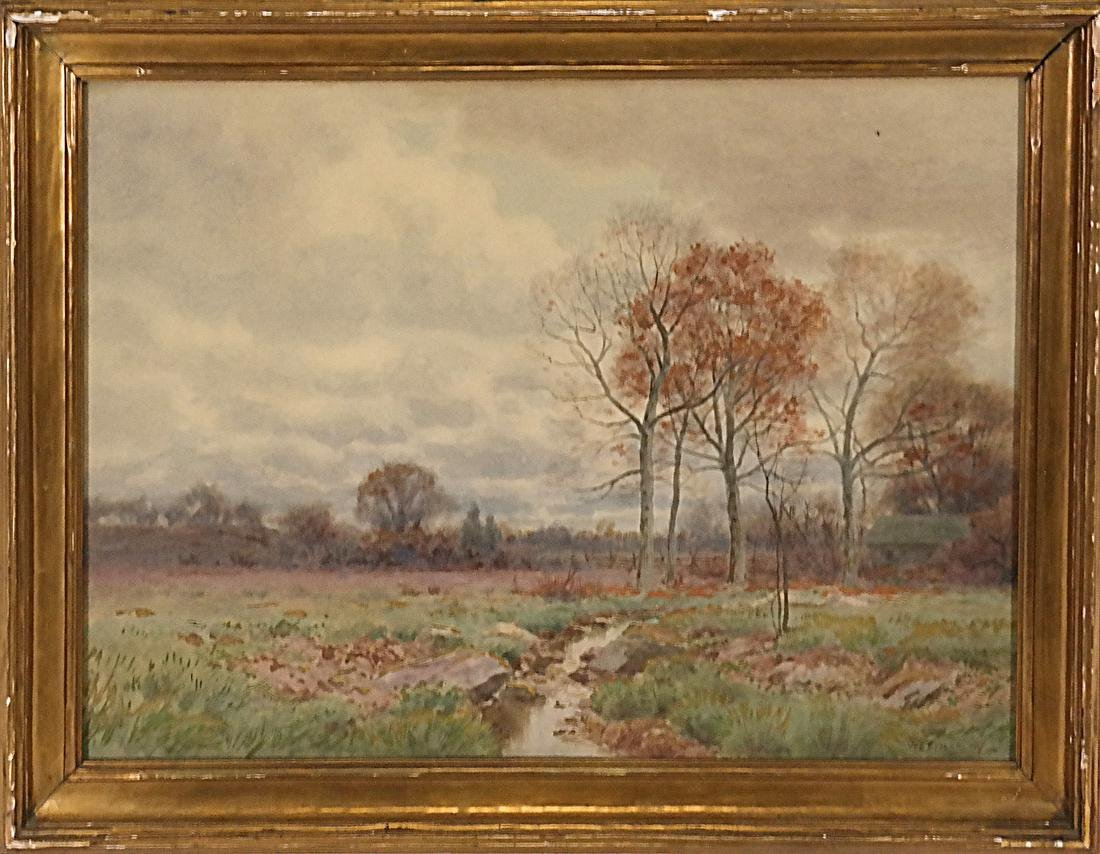 William Fitler, Landscape - Watercolor - 2
