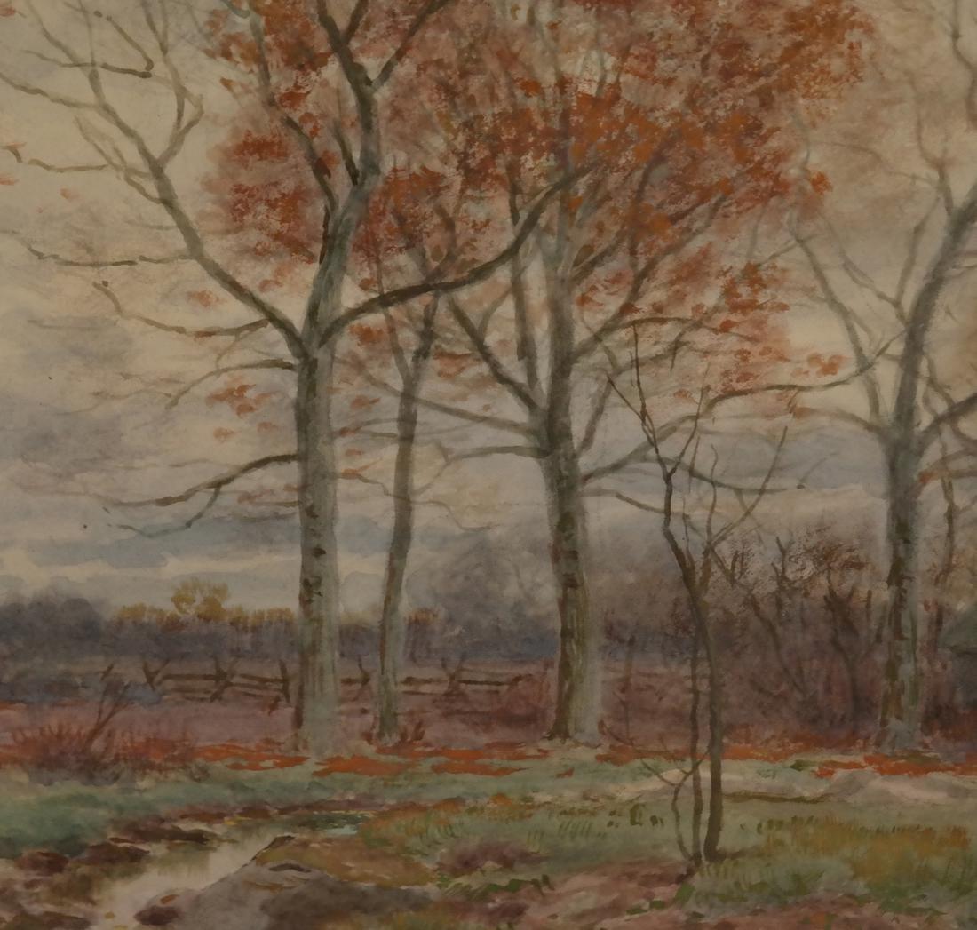 William Fitler, Landscape - Watercolor - 3