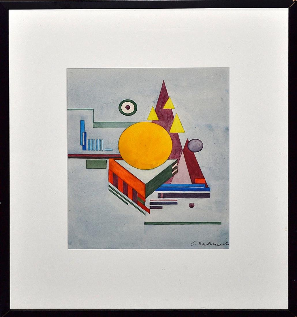 Charles Sahwel (American) - Untitled, No. 26