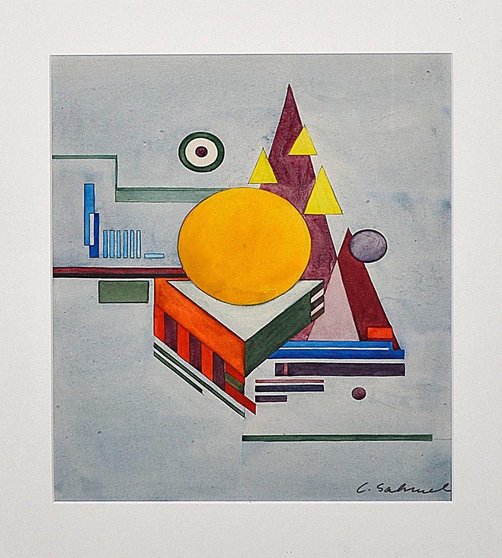 Charles Sahwel (American) - Untitled, No. 26 - 2