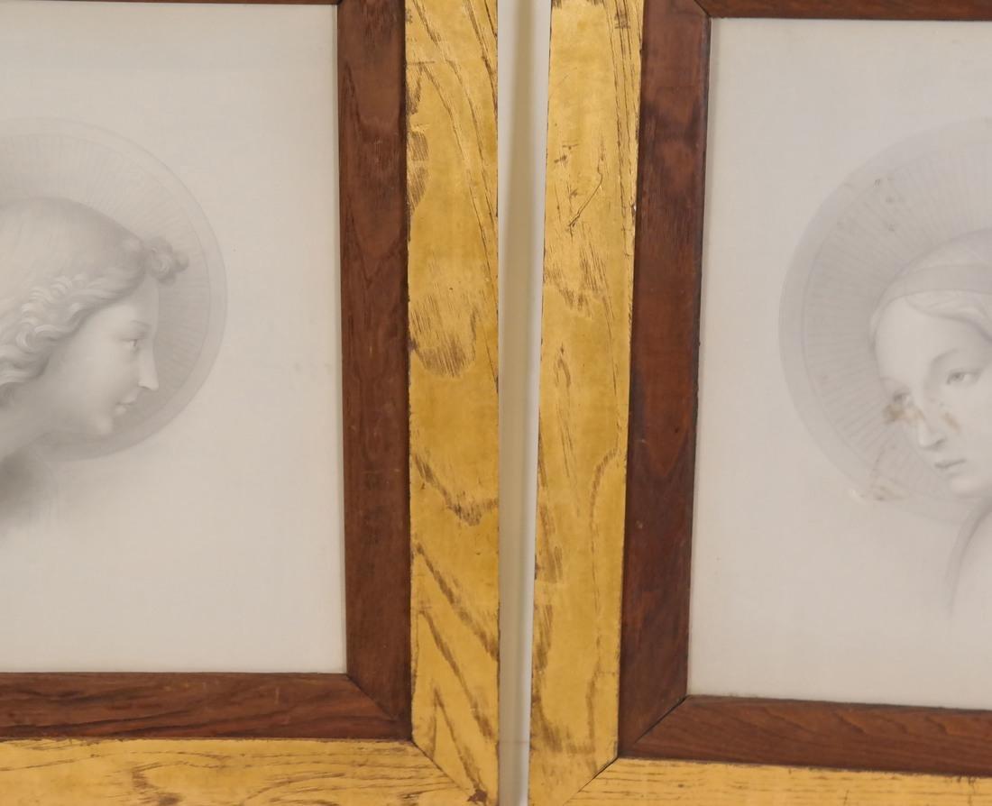 Pair of Angelic Portraits - 2