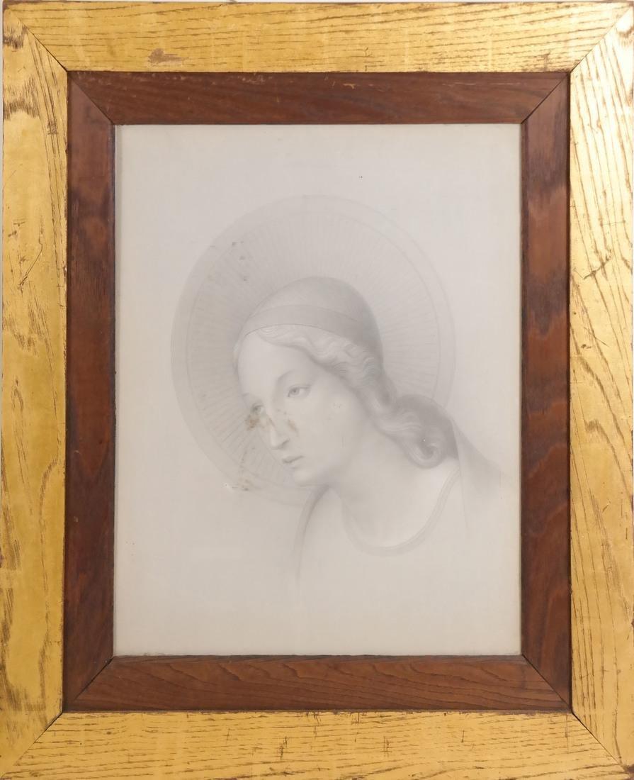 Pair of Angelic Portraits - 3