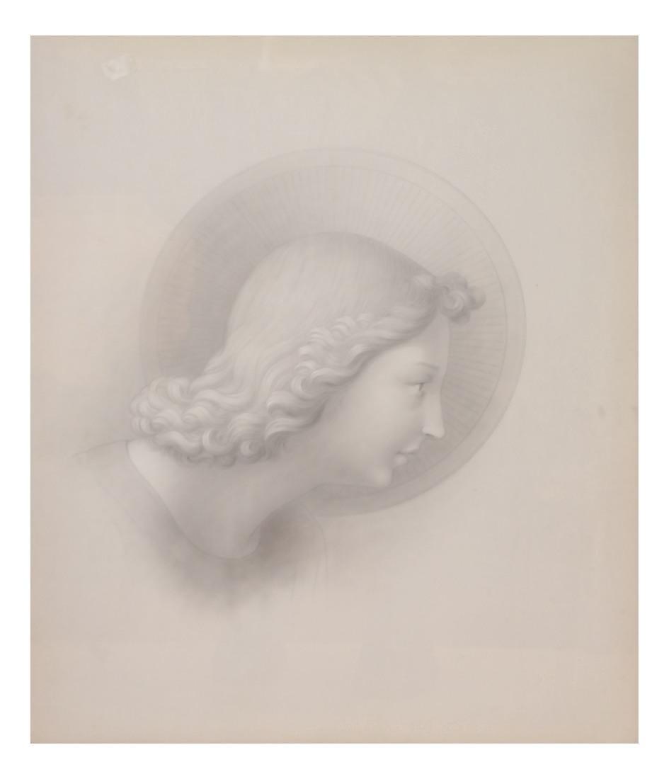 Pair of Angelic Portraits - 5